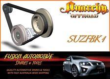 Fan Belt Kit for SUZUKI SIERRA STOCKMAN MG410 1.0L 4 CYL. 8V CARB. F10A SUZ1