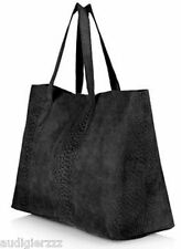 SALE! P2895 TOPSHOP Real Leather Suede Tote Bag