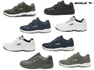 Mens Gola Belmont Trainers Wide Fit EE Active Casual Leather Shoes Sizes 7-15