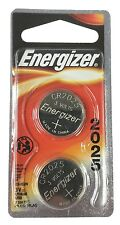 ENERGIZER CR2025 3V Coin Cell Lithium Batteries - Package of 2 (B4)