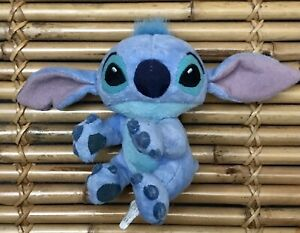 """Disneyland Stitch Plush Toy with Magnetic Paw Grasp Clings to Pen/Lamps 3.5"""" EUC"""