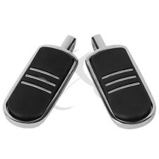Chrome StreamLiner Style Foot Pegs For 1986-2013 Harley Davidson Touring Models