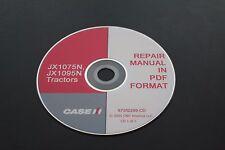 CASE IH JX1075N JX1095N TRACTOR SERVICE REPAIR MANUAL
