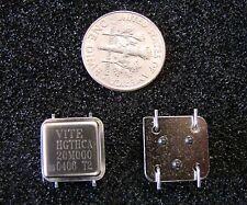 Vectron 5V Crystal Oscillator 20MHz HGTHCA20M000, SMD Half Size,Gull Wing,Qty.4