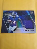 2015 Rookies & Stars Stefon Diggs Rookie Card Blue Patch Relic