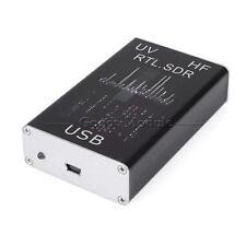 UV HF RTL-SDR USB Tuner Receiver/ R820T+8232 Ham Radio 100KHz-1.7GHz Full Band