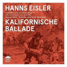KALIFORNISCHE BALLADE - MAY,GISELA/HÄHNEL,HERRMANN/BUSCH,ERNST   CD NEU EISLER
