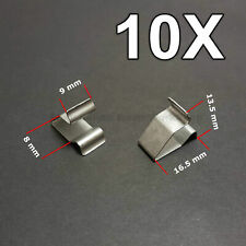 10X Sheet Metal Clamp, metal retaining clips, plug-in clips for Audi, VW, Skoda