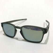 Oakley Sunglasses * Latch Squared 9353-08 Matte Olive Ink Emerald Iridium