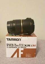 Tamron SP AF 28-75mm F/2.8 XR DI LD IF Zoom Lens for Sony A Mount - A09S