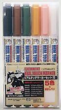 GUNZE SANGYO GUNDAM Markers-Real Touch Marker Set 2
