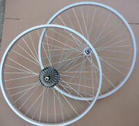 "WHEELS 26"" Bicycle Mountain Bike Cycle Front &/or Rear add Shimano 6 / 7 Speed"