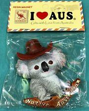 1 X Souvenir 3D Sydney Koala Native Australia Boomerang Fridge Magnet
