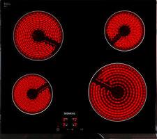 Glaskeramik Kochfeld Siemens ET651HE17 4x HiLight-Kochzonen Kindersicherung NEU