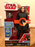 Star Wars Interachtech Kylo Ren Electronic Action Figure - NEW - Ships Fast!!