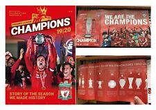 Liverpool Premier League Champions 2019/20 Collection Chelsea LFC Magazines x3