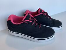 Heelys Launch 771023 Black/Neon Pink/White Roller Shoes Size Usa 7