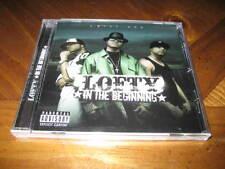 LOFTY - In The Beginning - West Coast Rap CD - Jay Tee Gemini Celly Cel Levitti