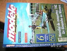 Modele Magazine n°563 Plan encarté Pivert / Fumigene bout ailesX-115 depron