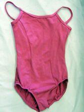 Motionwear 2518 Girls Size Large (Fits Medium) Candy Pink Camisole Leotard