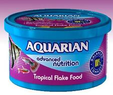 Tropical Fish Food 25g Flake Aquarian Advanced Nutrition High in Vitamin C & E