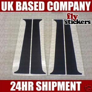 MK2 Golf Jetta B Pillar Decals, VW *NEW* Sticker