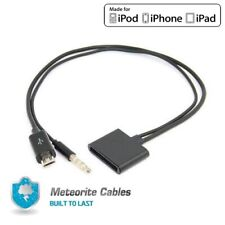 Micro USB to 30 Pin For iPod iPhone 4S Speaker Dock 3.5mm Audio Adapter Cable B