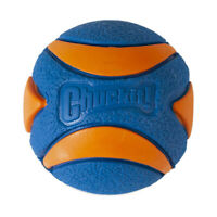 Brand New Chuckit!-Ultra Squeaker Ball High Bounce Float Rubber Sounds Dog Toys