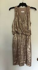 Gold sequin dress - one by eight - Sz. 10 - NWT