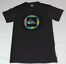 NWT Quiksilver Short Sleeve Black Graphic T-Shirt      Large     L1731