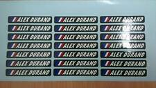 20 Stickers Autocollants signature personnalisé et drapeau / vélo cadre course