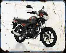 Bajaj Discover 125 05 03 A4 Metal Sign moto antigua añejada De