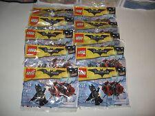 LEGO BOY'S BIRTHDAY PARTY LOT OF 10 BATMAN IN THE PHANTOM ZONE