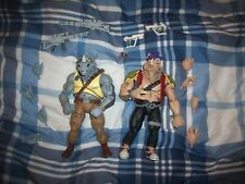 Bebop and Rocksteady neca tmnt complete good condition