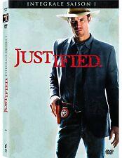 30760//JUSTIFIED SAISON 1 COFFRET 3 DVD NEUF SOUS BLISTER