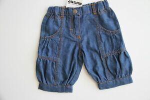Jacky Baby Hose Sommerhose Short Jeansoptik, Blau Gr.56