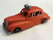 Old Vtg Collectible Budgie Models Fire Chief Car Red No. 27 Made In England