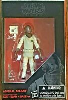 Disney Hasbro Star Wars The Black Series Admiral Ackbar Collectible Figure NEW
