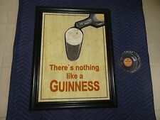 Guinness 3D Wooden There's Nothing Like a Guinness and Ashtray Pub Bar Man Cave