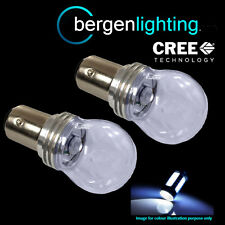 380 P21/5W BAY15D 1157 WHITE 3 CREE LED DRL SIDELIGHT SIDE LIGHT BULBS SLD203201