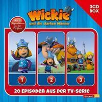 WICKIE - 3-CD HÖRSPIELBOX ZUR NEUEN TV-SERIE (CGI) VOL.1 3 CD NEU