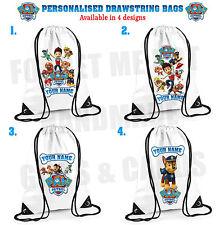 Paw Patrol Personalised Drawstring Bag PE School 4 designs Ryder