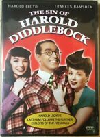 The Sin of Harold Diddlebock (DVD 2005) - B&W Factory Sealed NEW Ship FREE Tomor