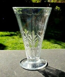 "Fostoria Crystal Clear BAROQUE 9 Oz Footed Tumbler 5½"" Tall"