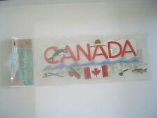 JOLEES CANADA WORD TRAVEL SCRAPBOOKING STICKERS