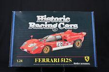 YS012 HELLER 1/24 rare maquette voiture 80747 Ferrari 512S 1986 Ickx Andretti