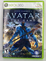 James Cameron's Avatar: The Game (Microsoft Xbox 360) NO Manual