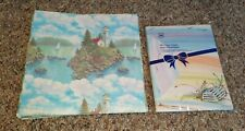 Gift Wrapping Paper Sheets Lighthouse Theme with Cape Beach Stationary