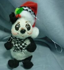 By Brand, Company, Character Dolls & Bears Vintage Annalee Mobilitee Dolls Inc 19841985 Christmas Panda With Sack