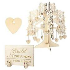 Wishing Tree Wedding Guest Book 3D Wooden Guest Sign Book Rustic Wedding Party